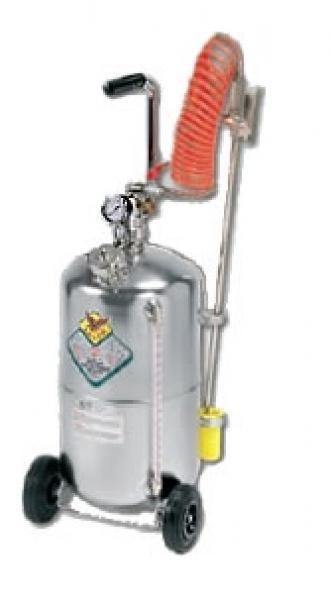Nebulizzatore 24 lt con livello in acciaio inox for Ventilatore nebulizzatore per interni